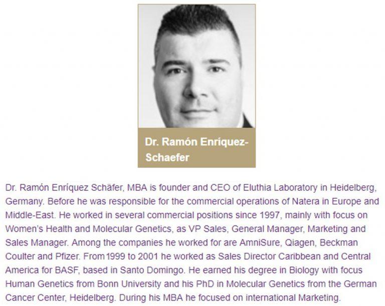 EOFF 2019 Emirates Obstetrics Gynecology & Fertility Forum 2019 Dr. Ramón Enríquez-Schäfer