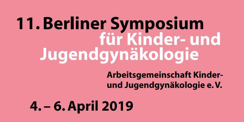 11. berliner symposium für kinder- und jugendgynäkologie